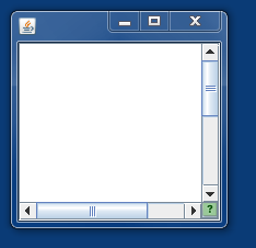 A Program Window with the Resized Icon