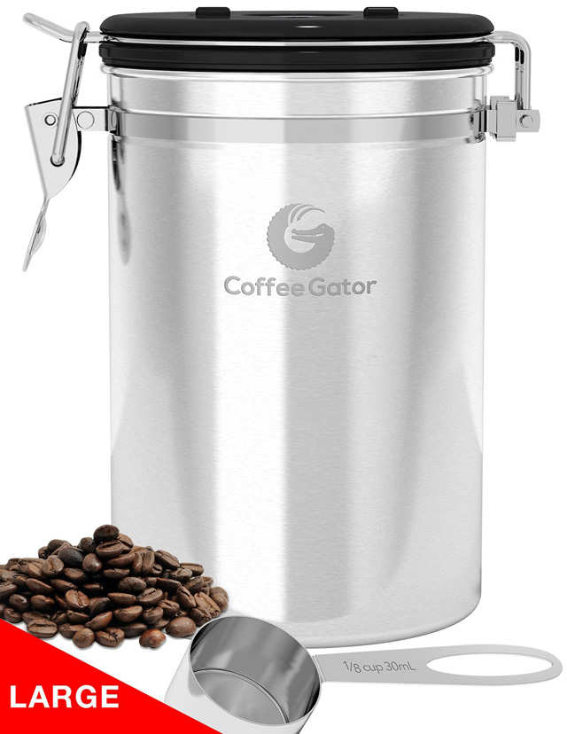 An Image of the Coffee Gator Container